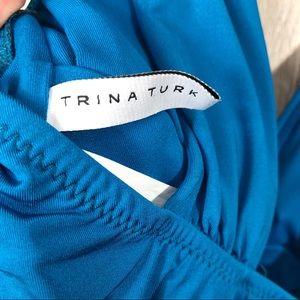 Trina Turk Swim - NWOT Trina Turk Getaway Solid Wrap Front One Piece